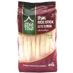 Wide Thai Rice Noodles 400g (Rice Sticks)